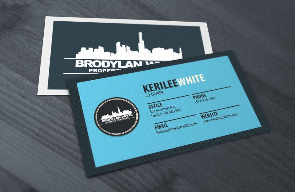 Business card design by kone marketing brodylan property for Business card management